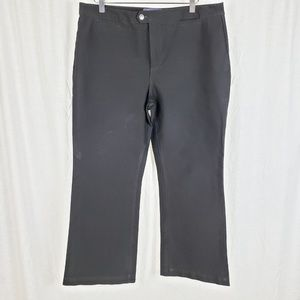 NYDJ Black Trouser Pants